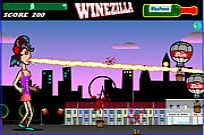 Play Winezilla - Attack Of The 100ft High Amy game