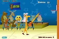 Play Giraffe Basketball game