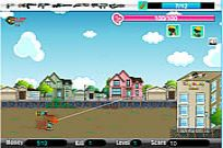 Play Cute Zombie School Defense game