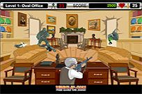 играя Bush Shoot Out игра