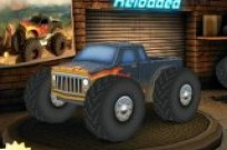 Play Monster Truck 3D Reloaded game