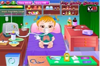 Play Baby Hazel Goes Sick game