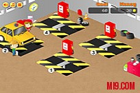 Play Frenzy Garage Car game