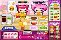Play Cute Burger game