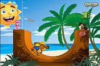Play Skater On The Beach game