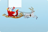 Play Flying Santa game