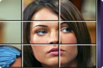 Play Megan Fox Puzzle game