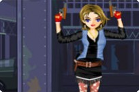 Play Lookout Shooter Girl game