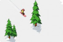 Play 2d Snowboard game