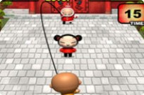 Play Pucca Jumping Rope game