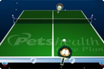 Play Garfield Ping Pong game
