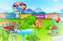 Play Puppy Flying game