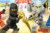 Play Ninjago Spinball  Snake Invasion game