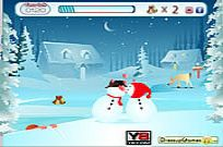 играя Fun Snow Kiss игра