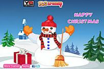 Play Snowman Christmas Decor game