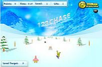 Play Spongebob Squarepants - Snowboard Rider game