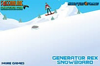 Play Generator Rex Snowboard game