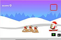Play Santa Snowboards game