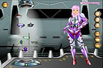 Play Claudia Space Girl game