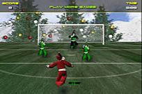 Play Santa's Footy Challenge game