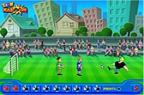 Play Johnny Bravo Soccer Champ game