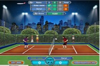 Play Football Tennis - Gold Master game