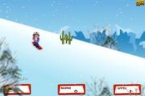 Play Dora Snow Skates game