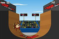 Play Extreme Taz Skateboard Halfpipe game