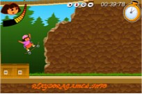 Play Dora Skateboarding game