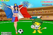 Play Worldcup Dressup game