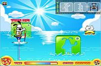 Play Puppy Water Skiing game