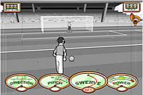 Play Stan James: Original Free Kick Challenge game