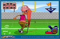 Play Grampa Grumble Field Goal Challenge game