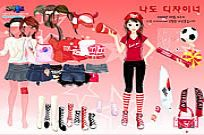 Play Sport Fan Dress Up game