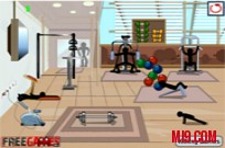 Play Stickman Death Gym game