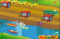 Tom And Jerry - Cat Crossing Game