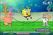 Play Spongebob Rope Skipping game
