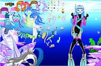 Play With Ocean Inside Dress Up game