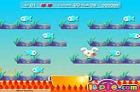 Play Rabbit Catch Fish game