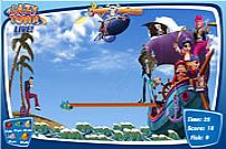 spielen Lazy Town - The Pirate Adventure Spiel