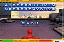 Play Spiderman 2 - Web Of Words game