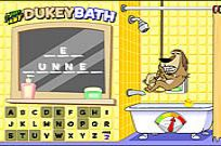 Play Johnny Test - Dukey Bath game