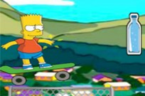 Simpsons Bart Boarding 2 Game