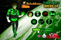 Green Lantern Dress Up Game